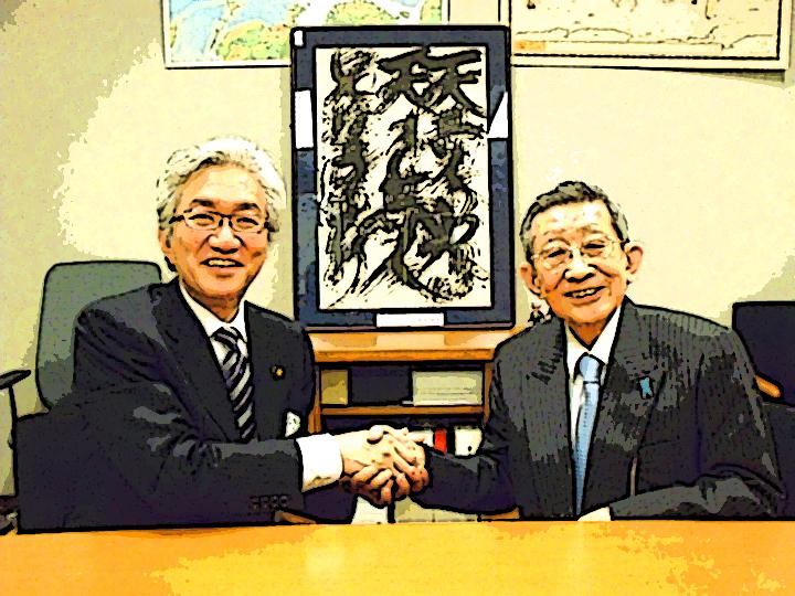 「西田昌司×すぎやまこういち 憂国対談」